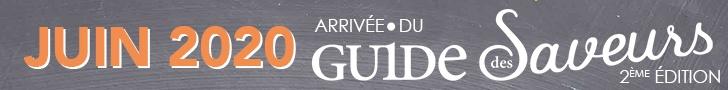 Bannière Guide des Saveurs - 2ème édition